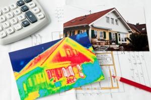 Energy savings. thermal imaging camera